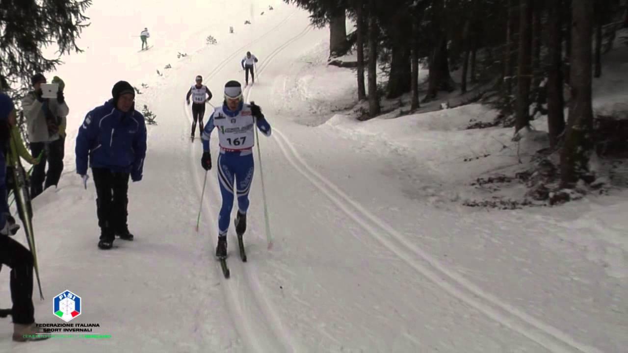 Campionati regionali sci nordico spiazzi di gromo, 14 febbraio 2016