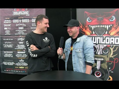 Winston McCall from PARKWAY DRIVE Interview at Download, UK | HEAVY TV