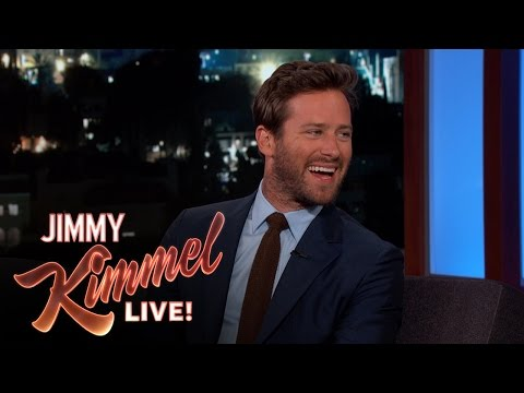 Armie Hammer Got Armie Hammered in Russia