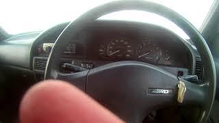 запуск двигателя в мороз -37 (Toyota Carib 1989г)