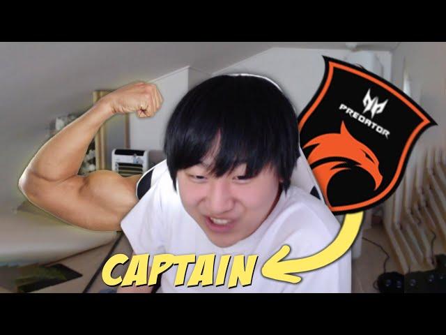 Hard IRL Training for Dota Pro Captaincy