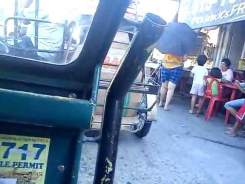Riding tricykle in Imus, Cavite