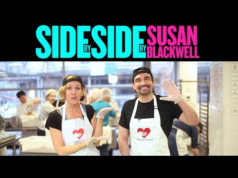 SIDE BY SIDE BY SUSAN BLACKWELL: Javier Munoz of HAMILTON
