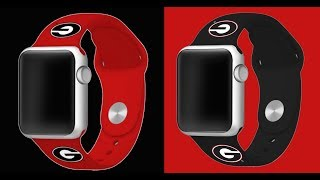 Georgia Bulldogs Replacement Apple Watch Band