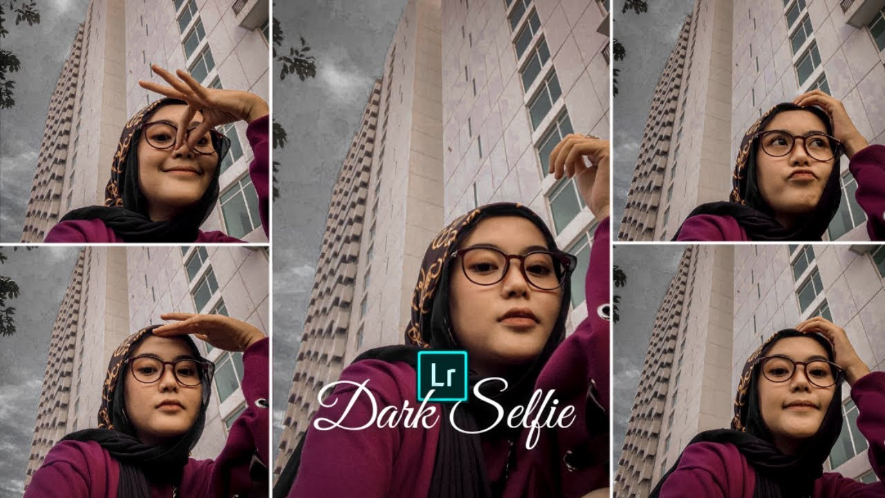 Cara Edit Foto Seperti Selebgram | Dark Selfie | Lightroom ...