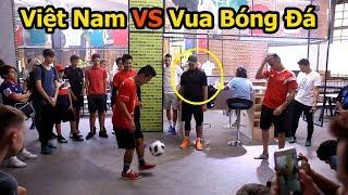 Thử Thách Bóng Đá World Cup 2018 Việt Nam VS Vua bóng đá đường phố Sean Gariner