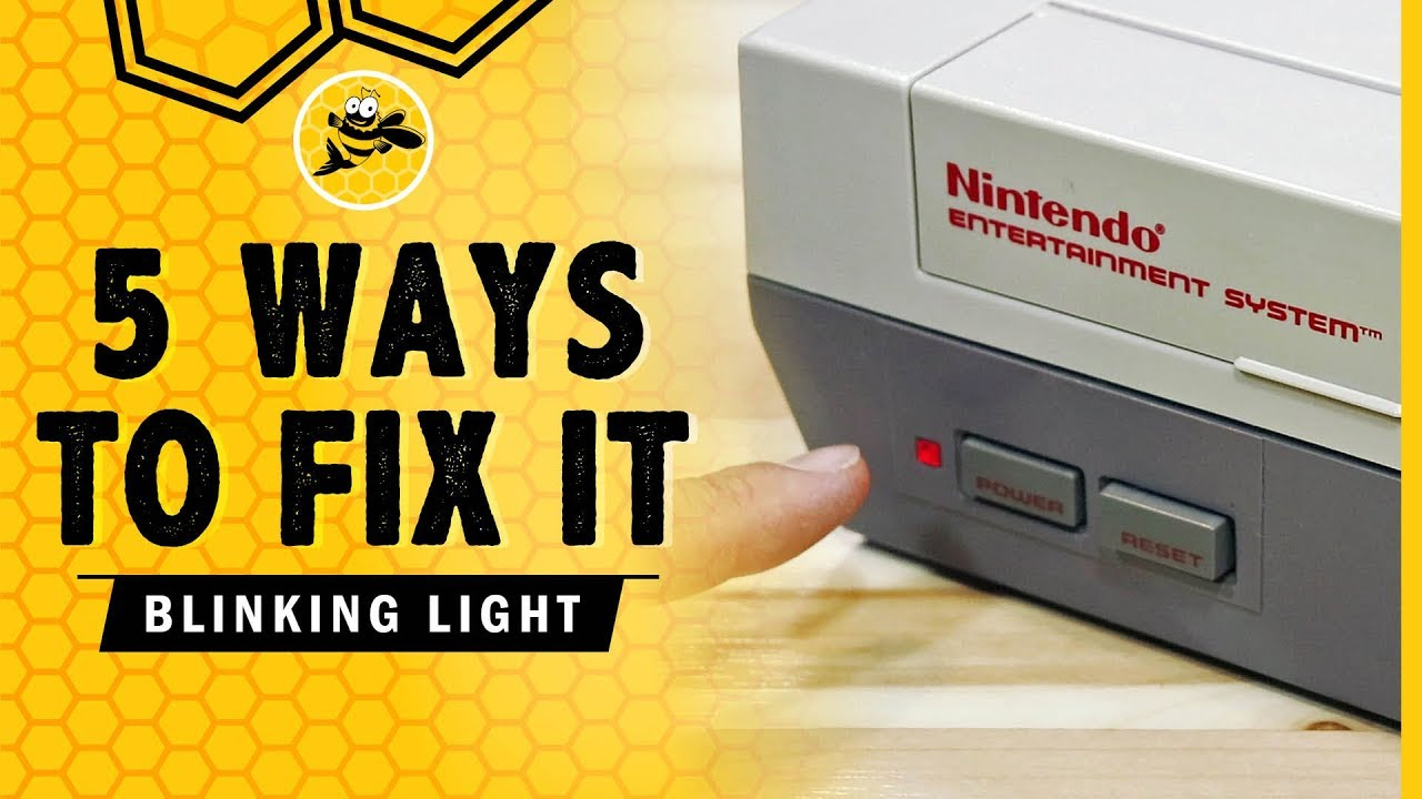 How To Fix the Original NES Red Blinking Light