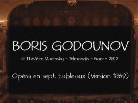 Modest Mussorgsky: BORIS GODUNOV (1869 version)