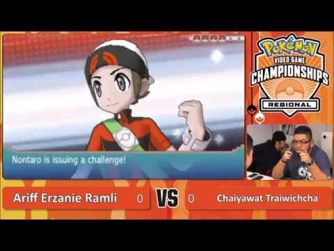 AeZ @ 2016 Pokémon  VGC Malaysia Regionals Top 8 - Vs. Chaiyawat Traiwichcha
