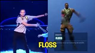 Fortnite Dances in REAL LIFE[RED_K! NG]!?!?