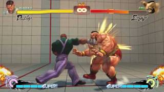 SUPER STREET FIGHTER 4 - Dudley Combo Exhibition 2