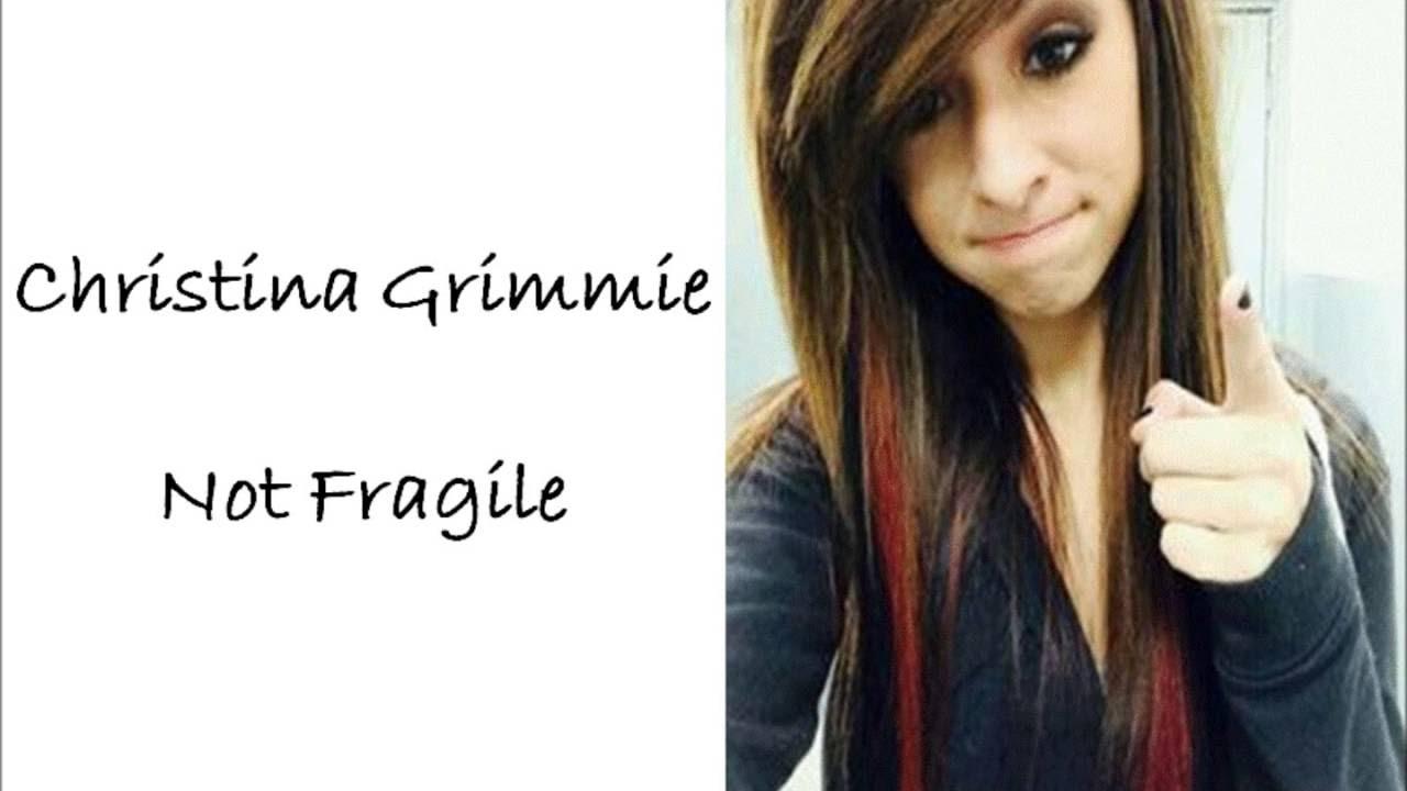 CHRISTINA GRIMMIE - NOT FRAGILE LYRICS