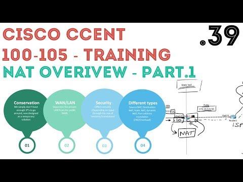 Cisco - CCENT/CCNA R&S (100-105) - NAT Overview. Part1 .39