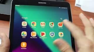 Samsung Galaxy Tab S3 prata.Esse sim é o melhor!Unboxing e primeiras impressões.