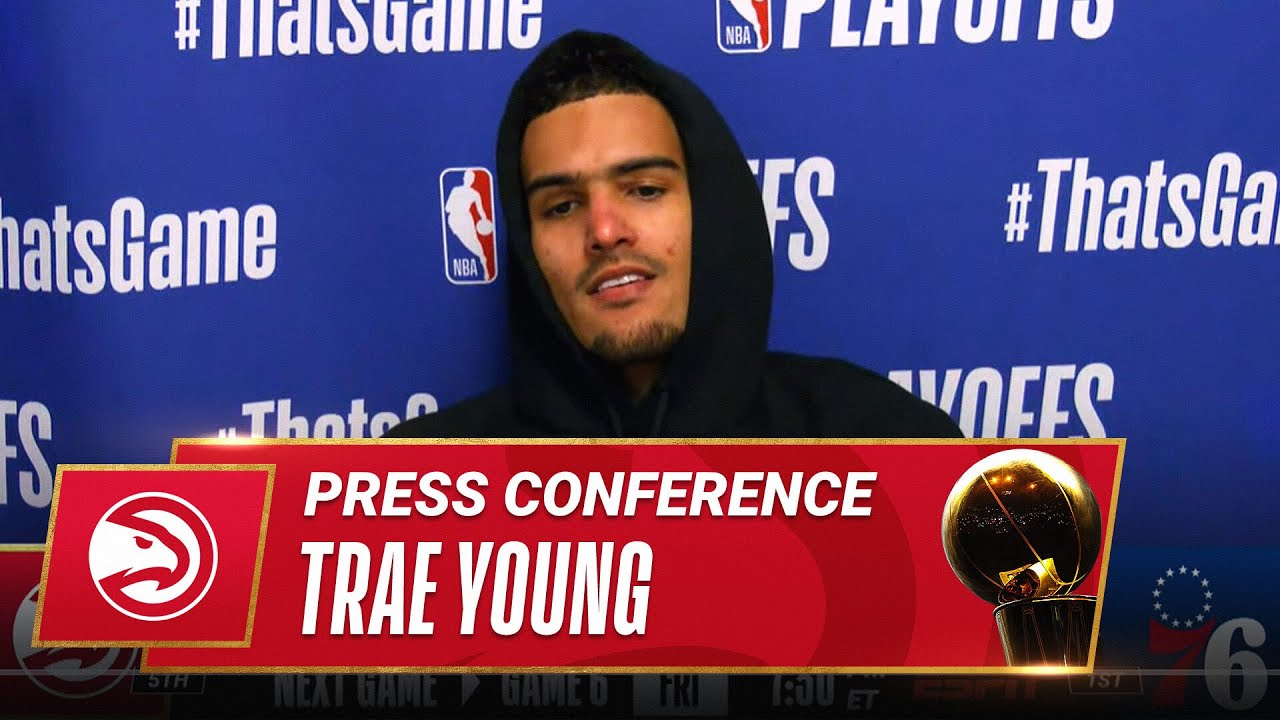 Trae Young on Hawks Game 5 Comeback!   Postgame Press Conference