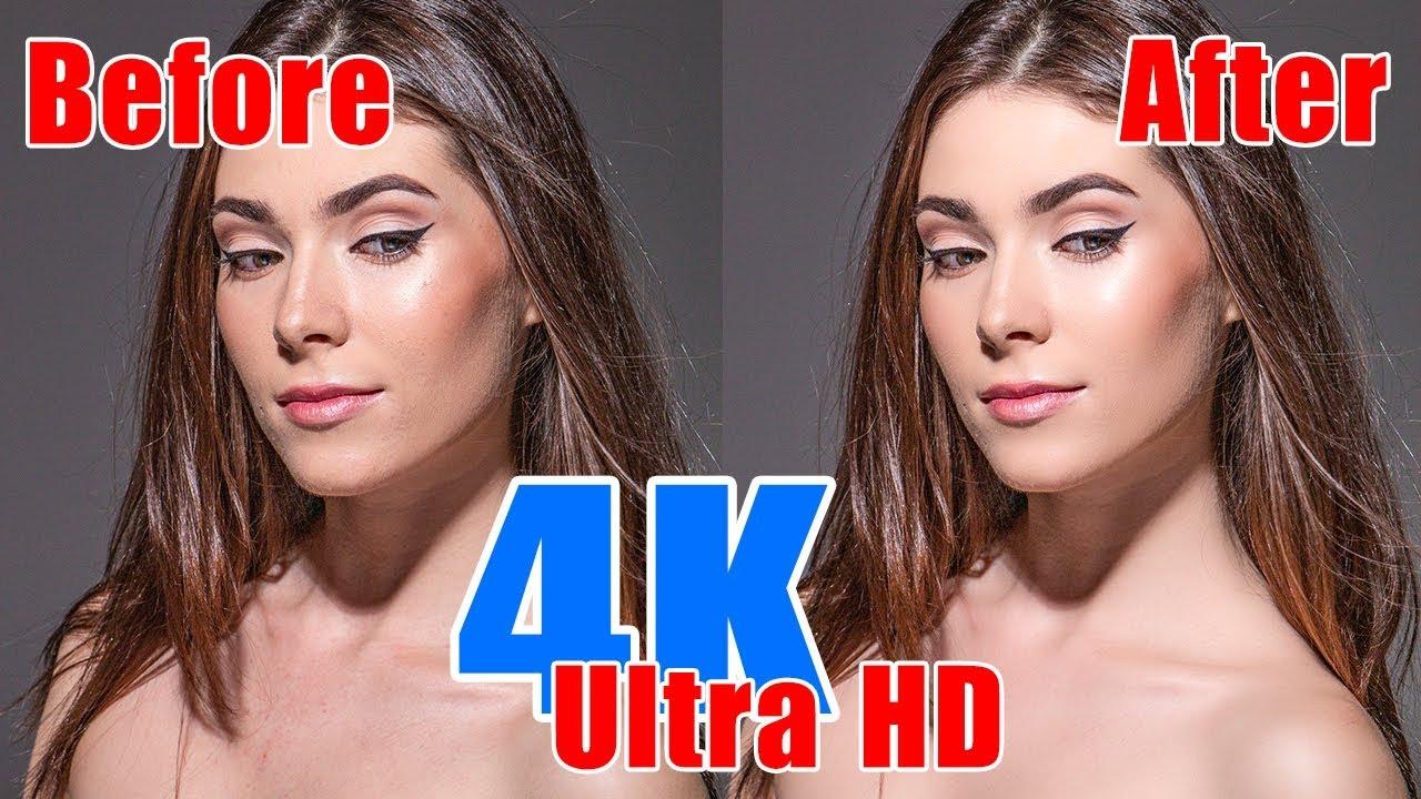 Chỉnh sửa ảnh chân dung với Adobe Photoshop (4K Ultra HD)