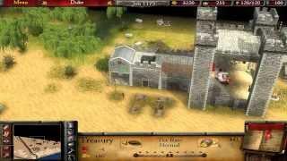 Stronghold 2 Multiplayer - Sir Srbin vs SergiuHellDragoon | Deathmatch [1080p/HD]