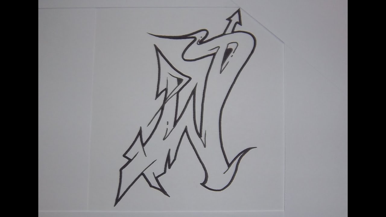 Alphabet graffiti n1 semi wildstyle letters hd youtube thecheapjerseys Image collections