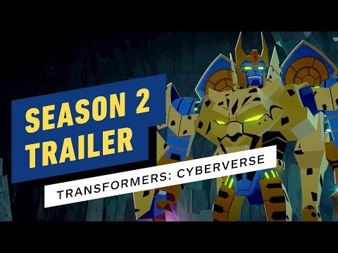 Transformers: Cyberverse Season 2 Trailer (Cartoon Network)