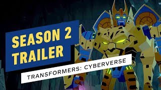 Transformers: Cyberverse Season 2 Trailer (Cartoon Network)