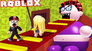 ROBLOX-WE ESCAPE FROM THE HOUSE OF BAD GRANDMOTHER! (Roblox Obby)-Vito and Bella