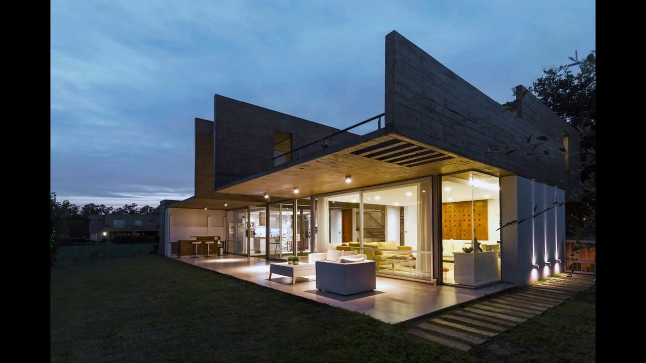 289 Sqm Modern Concrete House Design With Unique Structure ...