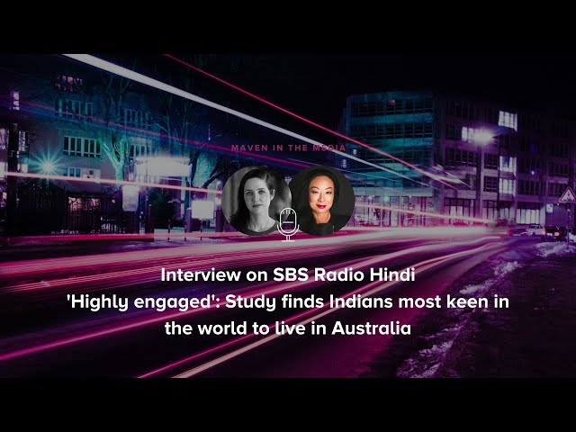 SBS Radio Hindi - 'Highly engaged': Study finds Indians most keen in the world to live in Australia