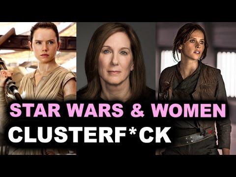 Kathleen Kennedy Star Wars Feminist: Jyn Erso, Episode 8 Rey, Female Directors