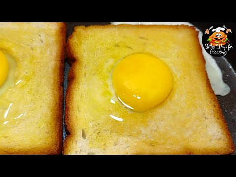 Delicious Egg Bread | Very Simple & Quick Breakfast  Recipe | In Just 5 Minutes.