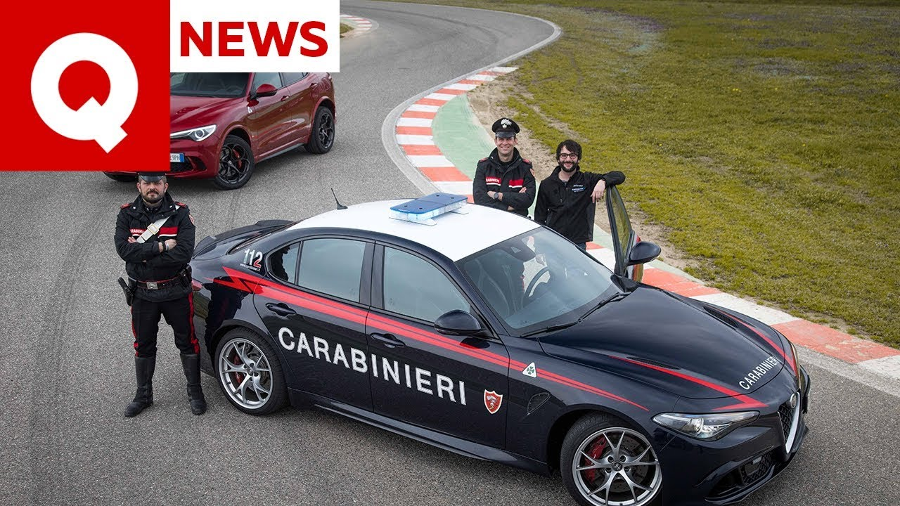 Download I segreti dell'Alfa Giulia Quadrifoglio dei Carabinieri (con inseguimento) | Quattroruote