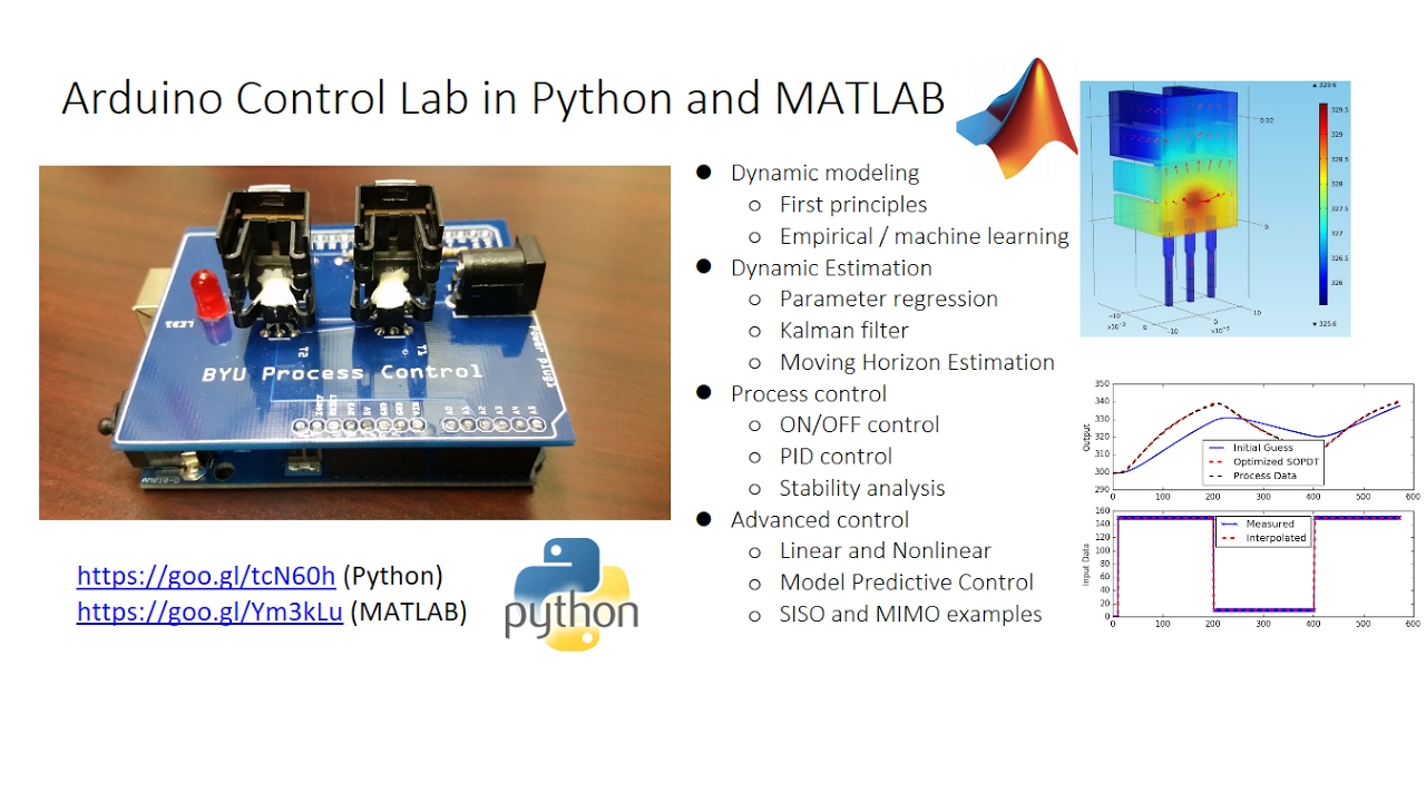 Arduino PID and Advanced Control in Python