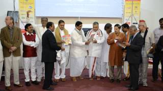 Sh. K E Krishnamurthy, Dy CM of AP launched 4th World Telugu Literature Conference(6)in London.