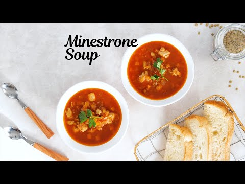Minestrone Soup [Rice Cooker SR-CN Series] (US/CA)
