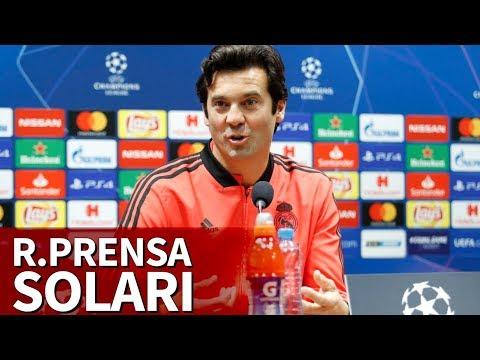 Rueda de prensa de Santiago Solari previa al Celta | Diario AS