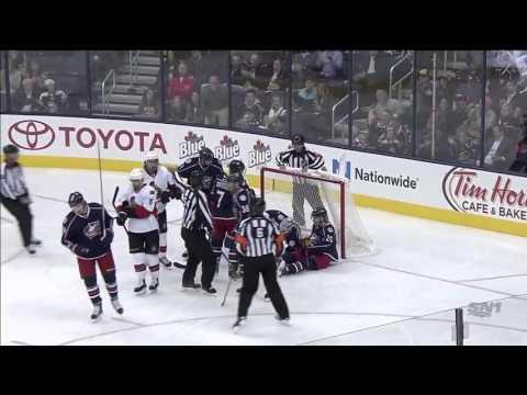 Ottawa Senators vs Columbus Blue Jackets 14.10.2015
