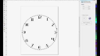Creating Clock Faces In Corel Draw - Method #2 -