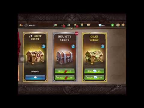 Dungeon Hunter 5 Adamant Stronghold Chest Opening.