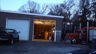 видео гараж для фуры аренда