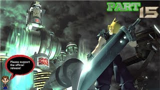 No no, Hojo! - Final Fantasy VII part 15