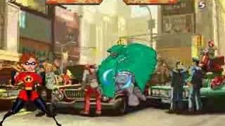 BS: Elastigirl mugen 6# Dr. Doom