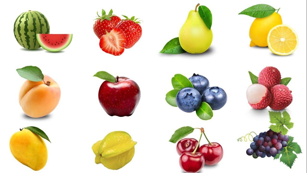 Học tiếng Anh chủ đề các loại trái cây/ Fruits Name in English/ English Online