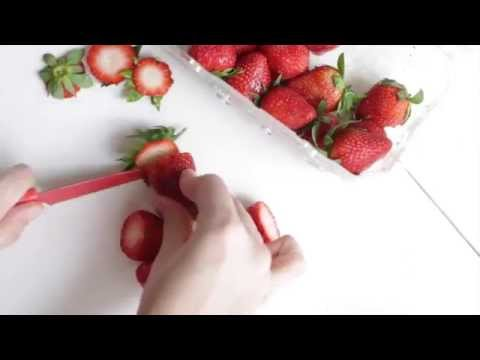 strawberries & cream smoothie
