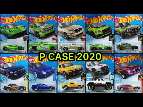PREVIEW: Hot Wheels – P CASE 2020! Pagani Huayra Roadster! Porsche 914 Safari! Honda Prelude!