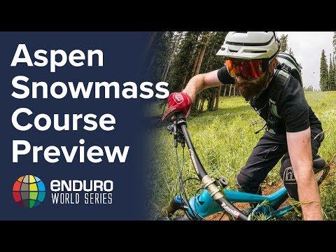 Course Preview POV Rd 6 | EWS Aspen, USA 2017