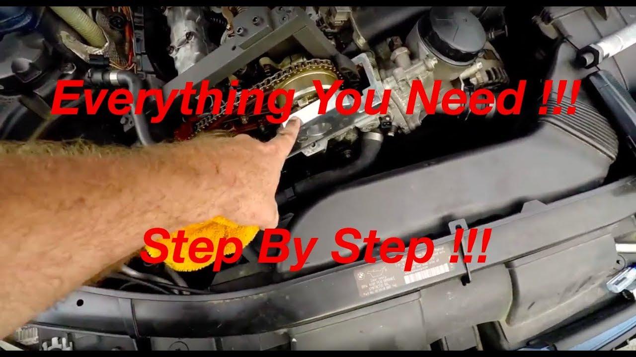 Complete Bmw N51 N52 N53 N54 N55 Engine Timing Procedure And Belt Inside Camshaft Install