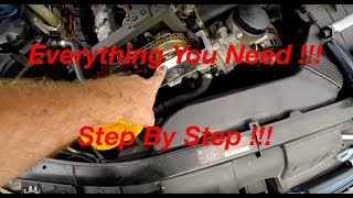 Complete BMW N51 N52 N53 N54 N55 Engine Timing Procedure And Camshaft install !!!