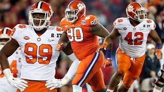 Clemson's Vaunted Defensive Line   ACC Football Spring Spotlight