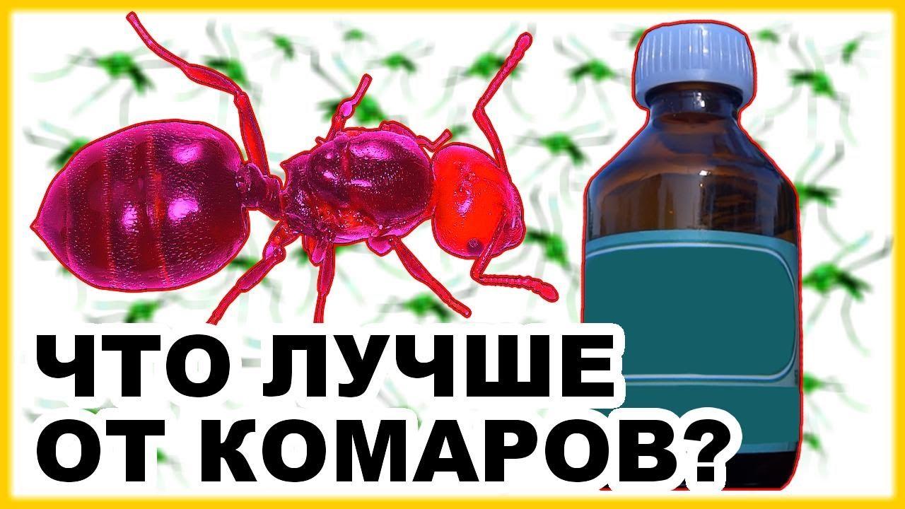 Защита от комаров. Народное средство от комаров и препарат