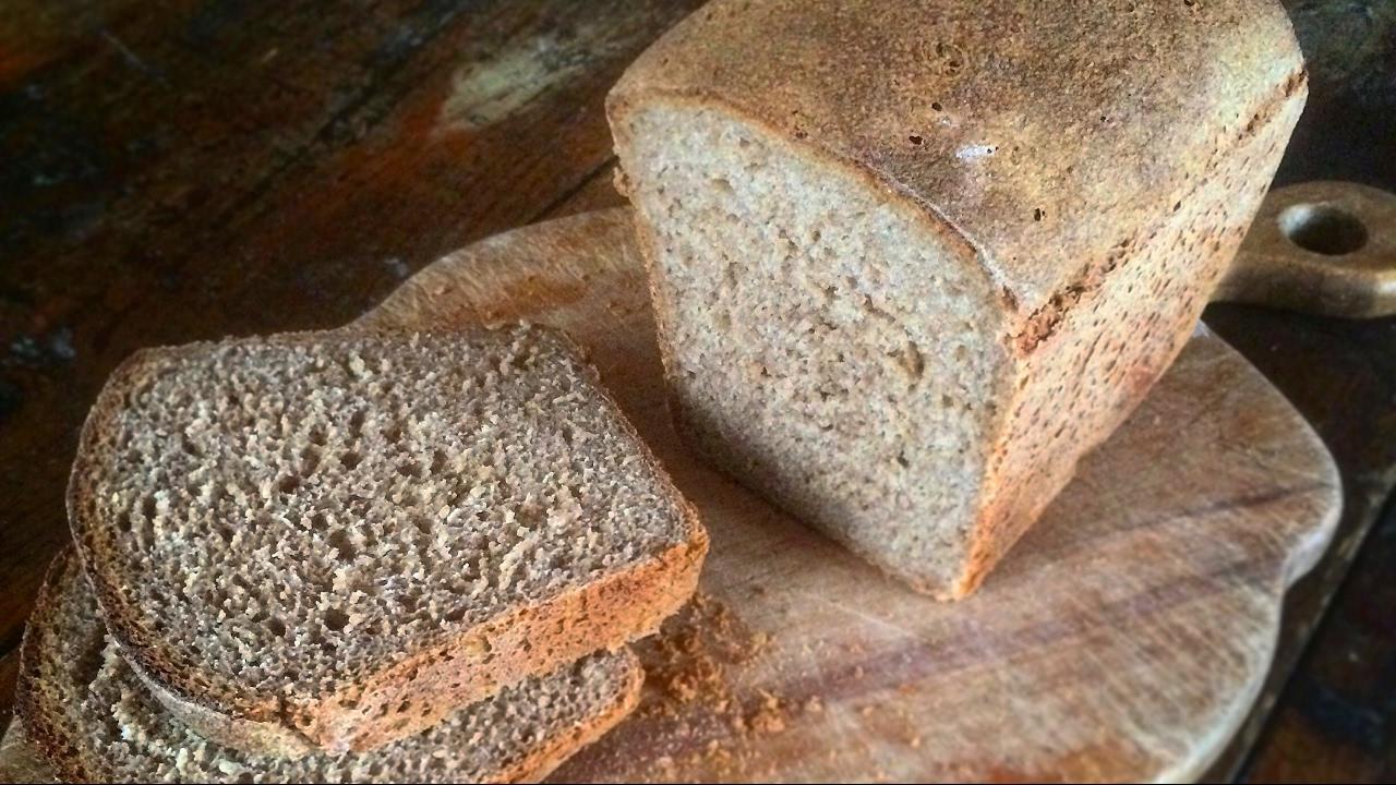 Хлеб цельнозерновой (1ч.) в #хлебопечке #Redmond RMB-M1907 #Bread .