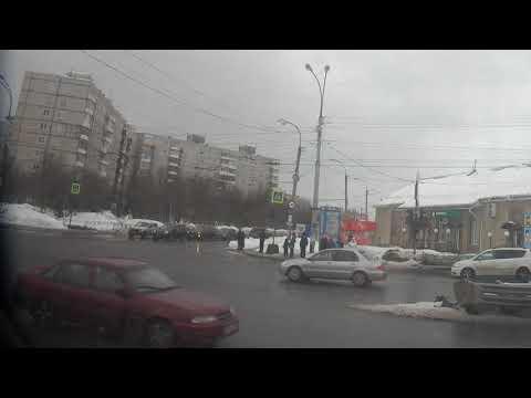 . Кола-Мурманск. Поездка на автобусе по городу из Мончегорска
